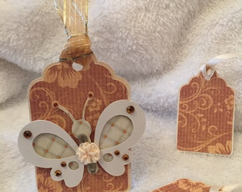 Butterfly Gift Tag Set