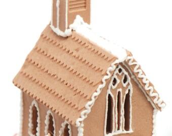 1:12 Gingerbread Church Mold Brand NEW!