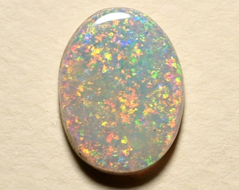 Australian Opal with Bright Multicolor Fire - 4.97 Carats