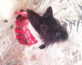Scottish terrier ornament or figurine, ready to ship
