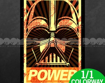 "POWER Special Edition 1 of 1 Colorway 13"" x 19"" Poster"