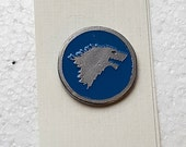 Hand Cast House Stark 1 in. Lapel Pin