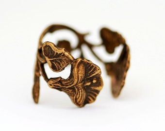Cherry Blossom Filigree Ring,Flower Silver Ring,Jewelry Gift, Ring,Brass Ring,Jewelry Gift, Ring,Flower,Antique Ring,Blossom,Wedding