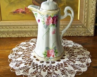 Vintage Doily Lace Crocheted Centerpiece Grandma's Doily Vintage 1930s