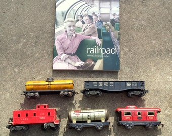 5 Old Toy Trains & Railroad Identity Design and Culture Book