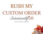 Custom order for Darlene
