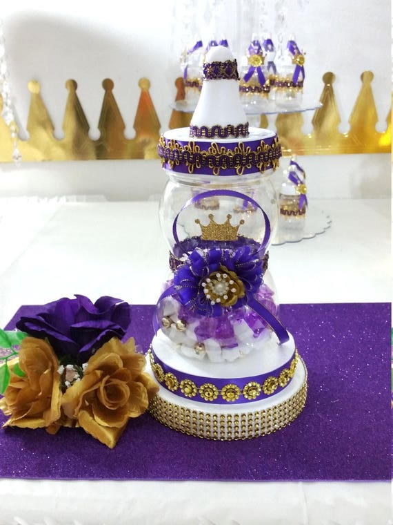 baby shower centerpiece for royal purple baby shower royal purple