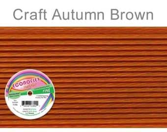 Econoflex Fine Autumn Brown Wire .014 Diameter  - 30Ft Wholesale Price (11352)/1