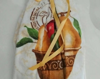 Kitchen Dish Towel for Thanksgiving (Handmade)