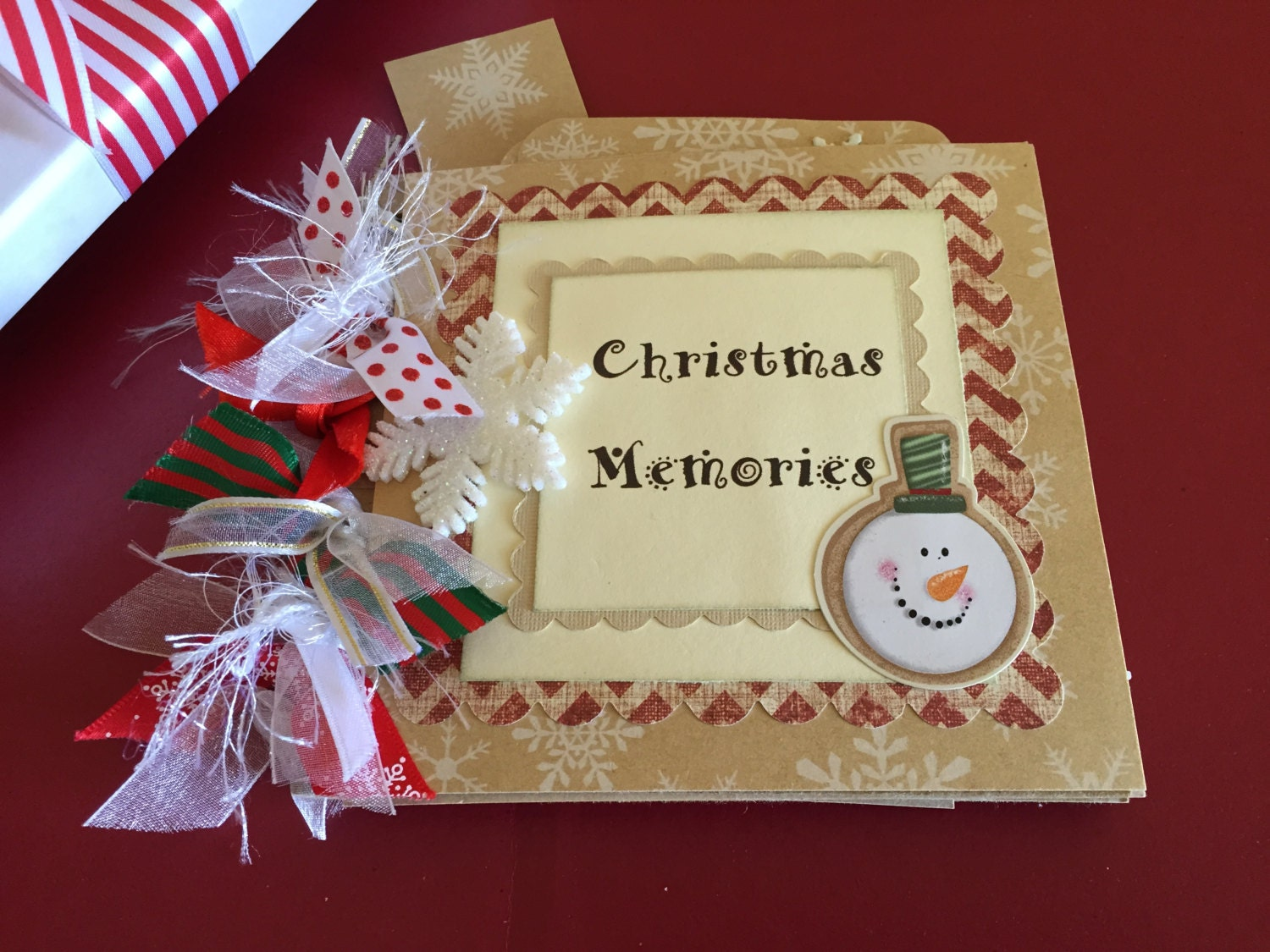 How to scrapbook a holiday - Sold By Preciouspagesbysusan