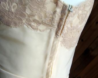 Vintage Lingerie | New Old Stock Full Slip | Vintage Lingerie 1950s 1960s | Lace Full Slip | Vintage Petticoat | PinUp Lingerie | PinUp Girl
