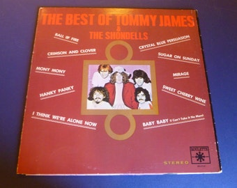 The Best Of Tommy James & The Shondells Vinyl Record SR42040 Roulette Records