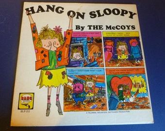 Hang On Sloopy By The McCoys Vinyl Record BLP-212 Bang Records