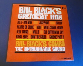 Bill Black's Greatest Hits Vinyl Record LP HL 12012 Mono Hi Records 1963