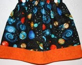 Planets Skirts   Size 2 to 8