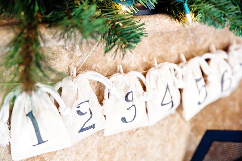 Hanging Calendar on Mantle