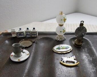 Antique Dollhouse Miniatures Collection