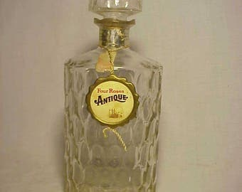 1968 Four Roses Antique Kentucky Straight Bourbon Whiskey, Whiskey Decanter with labels and stopper