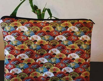 Oriental cosmetic bag