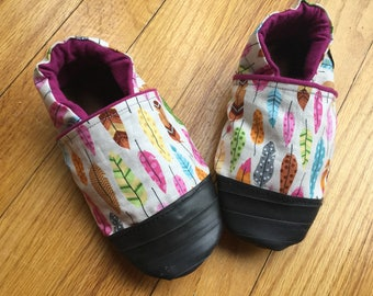 Outdoor Kids Shoes, Minimalist Soft Soled Sandals, Boho Baby, Summer Feathers, Toddler Slippers Rubber Soles, Summer Girl, Outdoor Baby Shoe