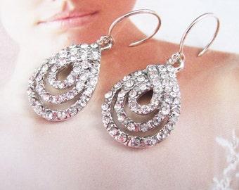 chandelier earrings, bridal earrings, wedding earrings, pearl earrings, wedding jewelry, crystal earrings, statement earrings, earrings