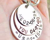 Father Gift, key chain, mens gifts, dad key chain, father, personalized dad, gifts for him, personalized key chains