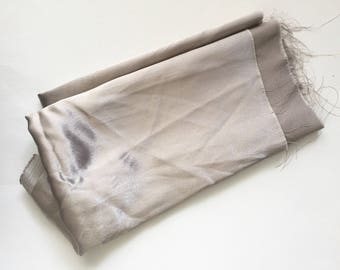 Taupe Satin Fashion Fabric