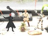 Power of the Force Star Wars Action Figures/Yoda/Obi-Wan Kenobi/Anakin Skywalker/Darth Maul