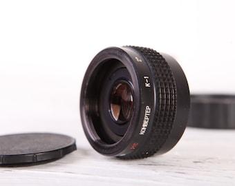 MC K-1 Vintage Russian Soviet TELE Converter M42 Lens to increase 2x Focus