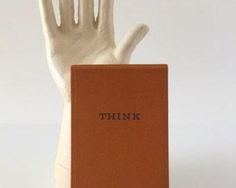 Vintage IBM Think Notepad
