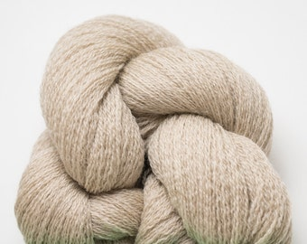 Heather Khaki Recycled Merino Extra Fine Grade Lace Weight Yarn, EFM00225
