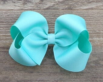 Boutique Hair Bow~Lucite Boutique Hair Bow~M2M Matilda Jane~Basic Hair Bow~Large Boutique Hair Bow~Simple Hair Bow~Easter Bow
