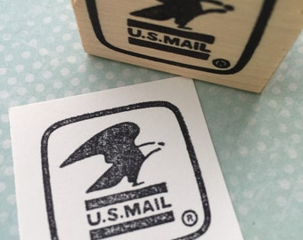 US Mail Rubber Stamp