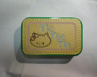 Little Kitty Tic Tac Tin in Altoid tin, finished item