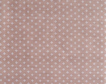 Tan Chintz Fabric, Cotton/Polyester Blend, Fabric by the Yard