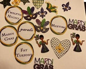 Huge set 20 stickers fit Erin Condren, MAMBI, KATE Spade, personal planner as accessary stickers