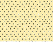 Northcott Fabrics - Dots on Yellow - Hipster on the Go - Tiny Treasures - By Deborah Edwards - By The Yard
