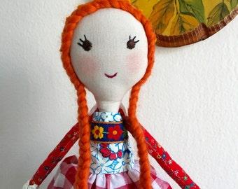 "Handmade Doll 15"""