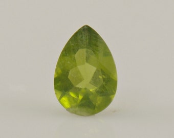 S10- Peridot Pear- 11x7.5x4- 2.34ct.