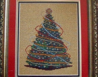 50%OFF Turquoise Graphics & Designs JOYOUS TIMES Christmas Tree - Counted Cross Stitch Pattern Chart