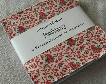 Pondicherry charm pack by French General for moda fabrics