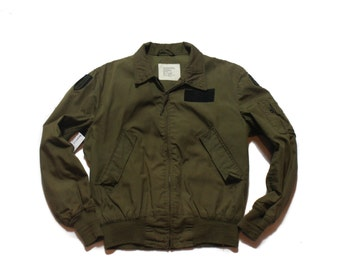 LRG Long | 1983 Military Lightweight Flyers Jacket Greenbrier Industries