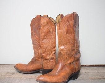 40% off SALE 9 D | Men's Brown Western Boots by Abilene