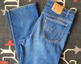 38-40 waist | Vintage Levis 517 Bootcut Denim Nice Fade