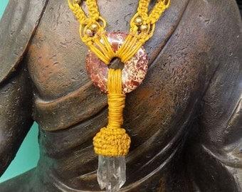 Macrame Adjustable Necklace