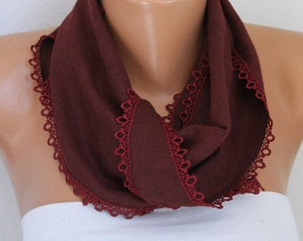 Burgundy Pashmina Scarf,Wedding Scarf,Wine,Spring Scarf,Cowl,Gift for her,women fashion accessories