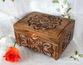 Jewelry shop Personalized & custom jewelry Personalized storage Engraved jewelry box Ring wooden box Wedding jewellery box Wood boxes B32