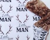 Baby Lovey Blanket, Security Blankie, Lovey Blanket, Deer Lovey, Little Man Lovey, Fawn Lovey, Woodland Lovey