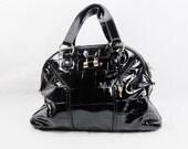 YVES SAINT LAURENT Large Muse Patent Leather Bag