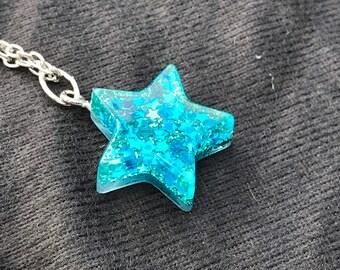 Custom resin star charm